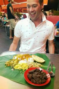 Eating banana leaf curry with my boss has always been a highlight of living and visiting Malaysia!